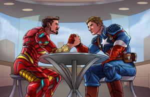 Team Cap or Team Iron Man