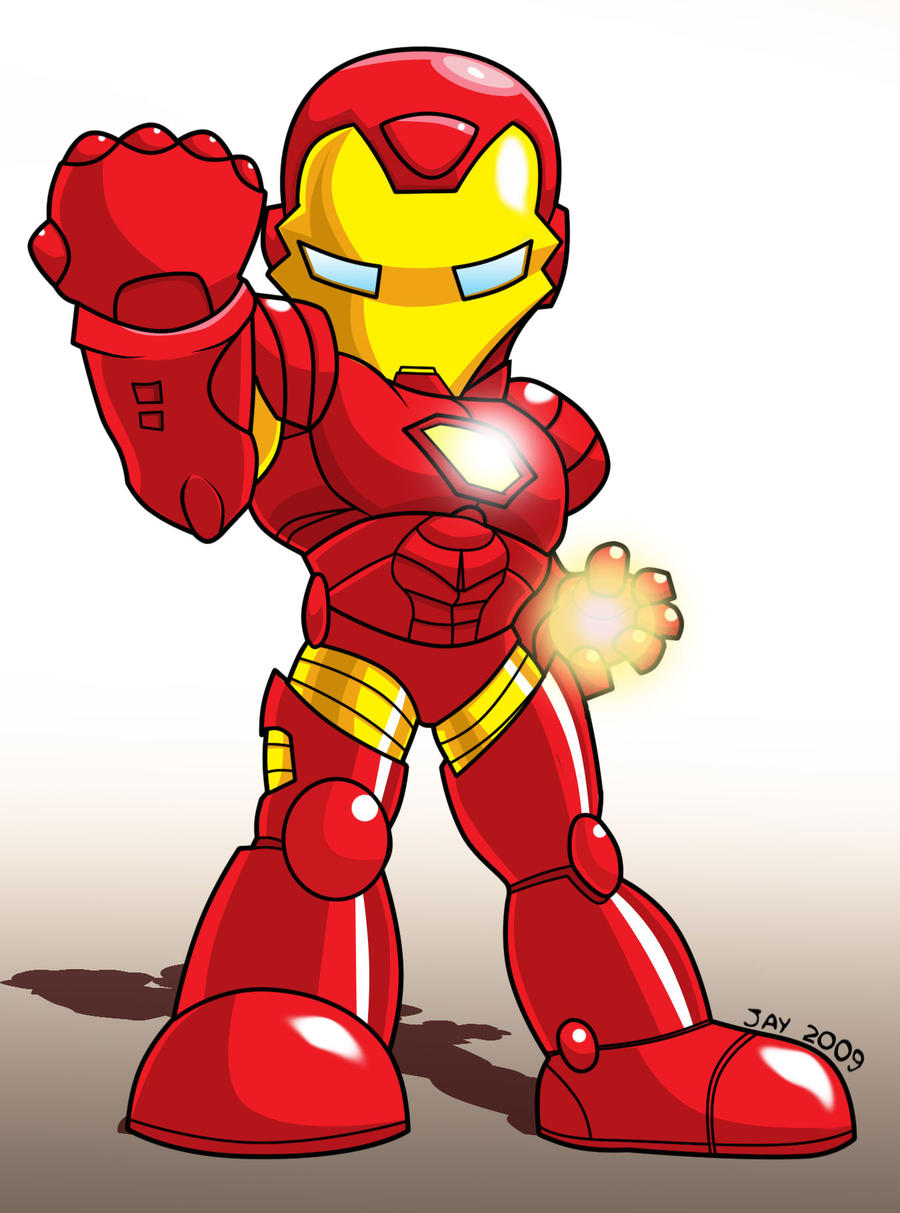 Chibi - Iron Man by JaeyRedfield on DeviantArt