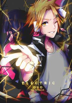 F: Kaminari x Jirou (Boku no Hero Academia)