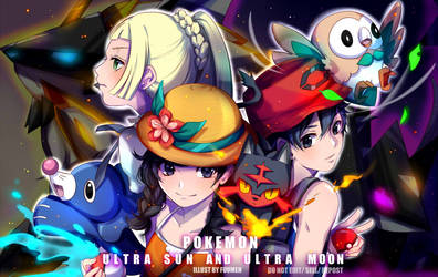 F: Pokemon Ultra Sun and Moon