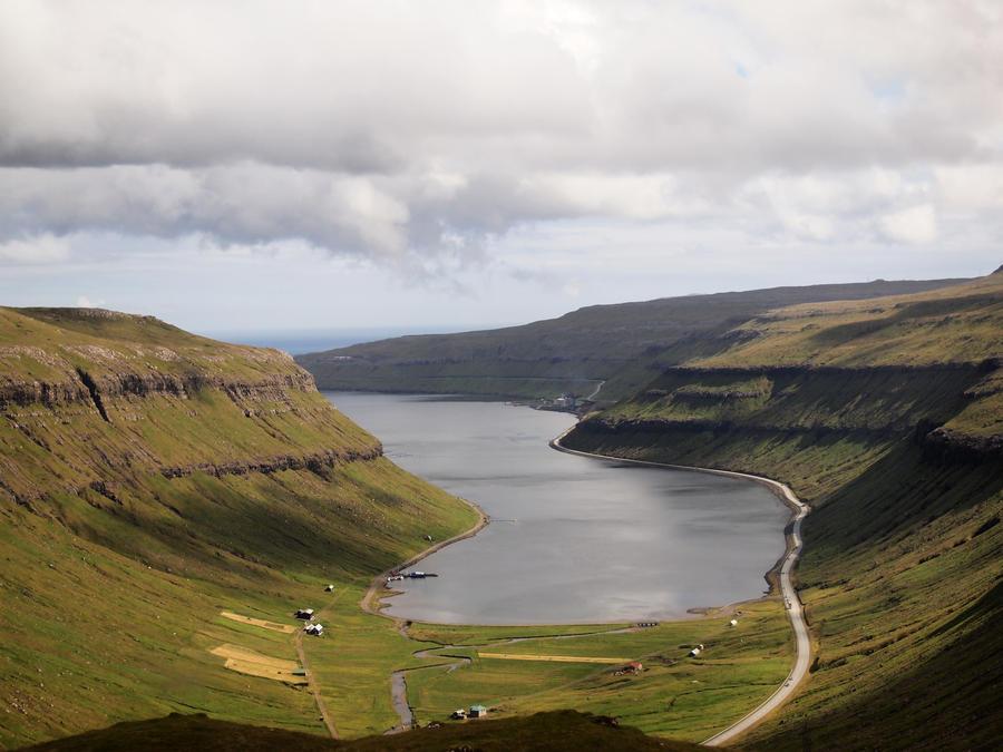 Faroe Islands fjord by bellaricca