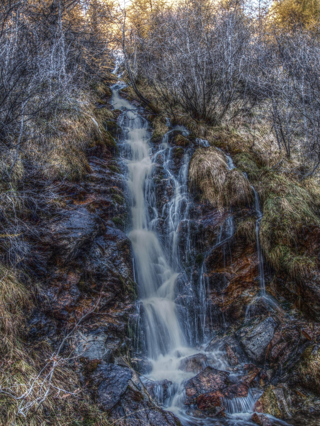 Alpine falls [hdr] by bellaricca