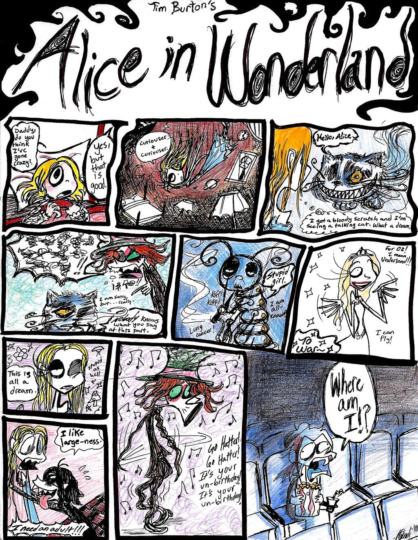 Burton's Alice in...Underland? by CountANDRA