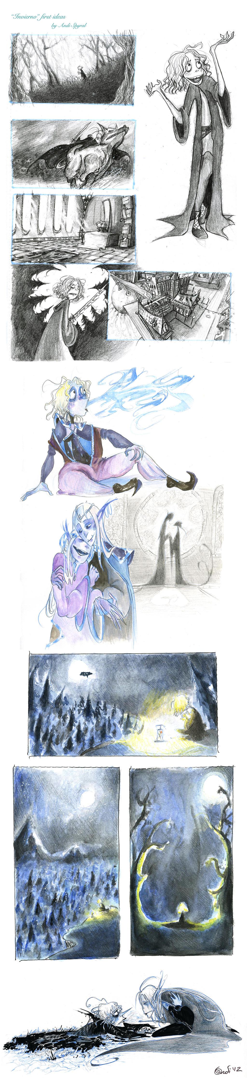 Invierno sketch dump by CountANDRA