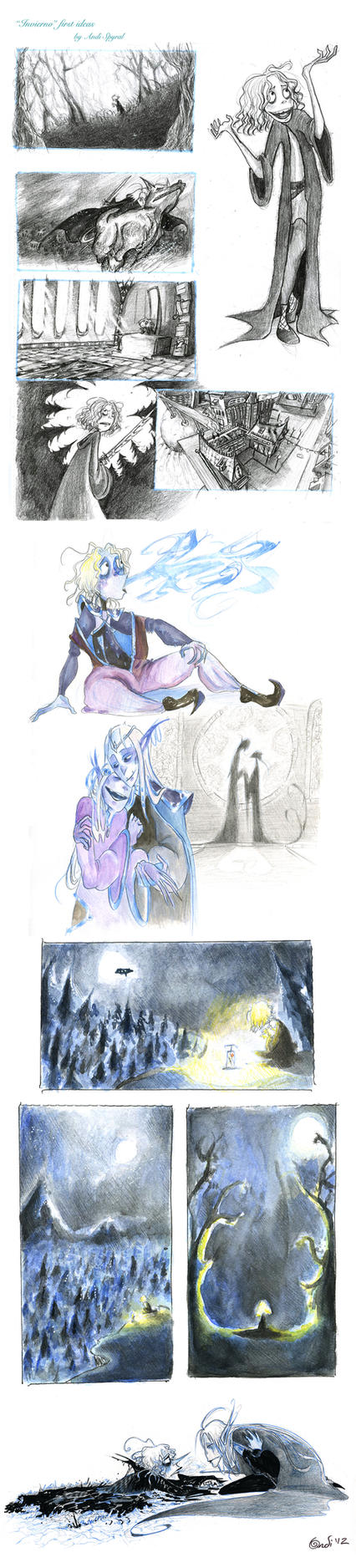 Invierno sketch dump by CountANDRA