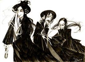 Annoying li'l Vultures by CountANDRA