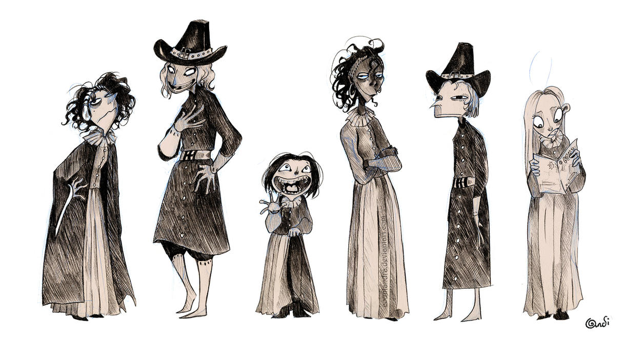 Students of Salem by CountANDRA