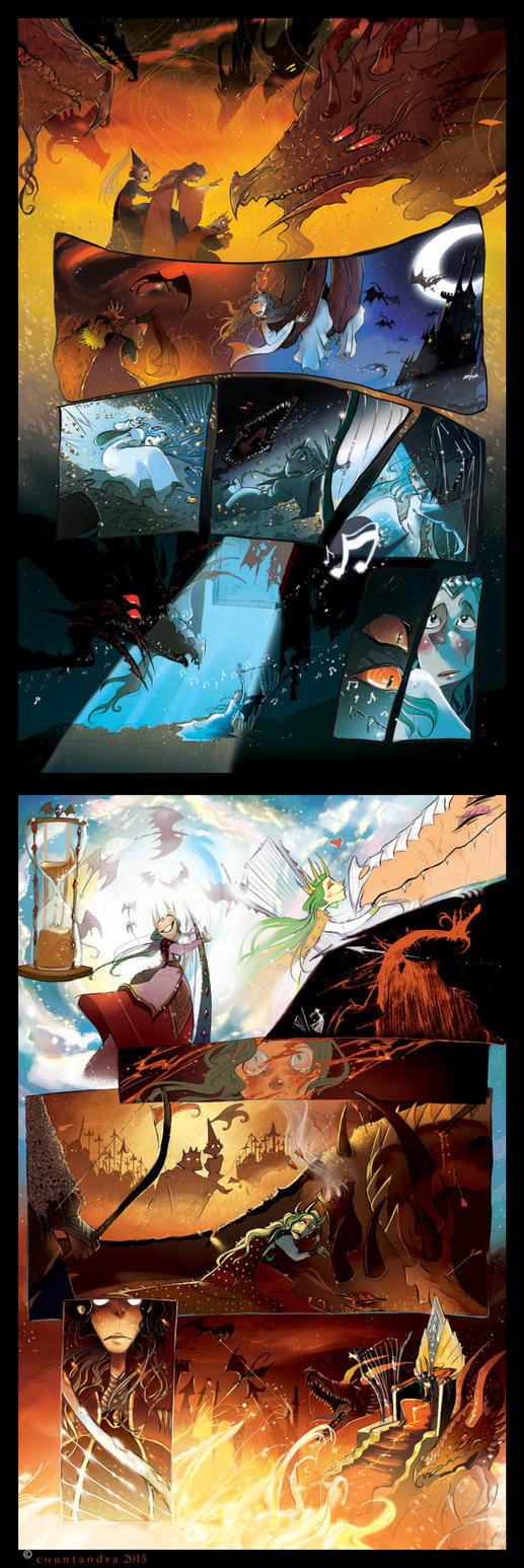 The Dragon Princess by CountANDRA