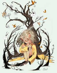 Girl in Gold