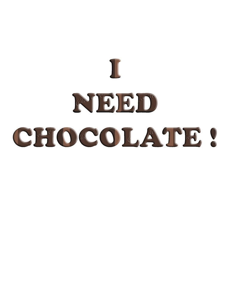 Need Chocolate