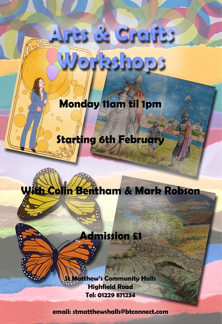 ArtsCrafts Flyer by Colin-Bentham