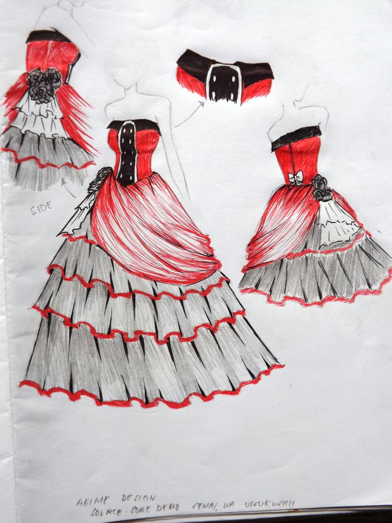 Nike Lamercier-Dress by allenwalker-chan