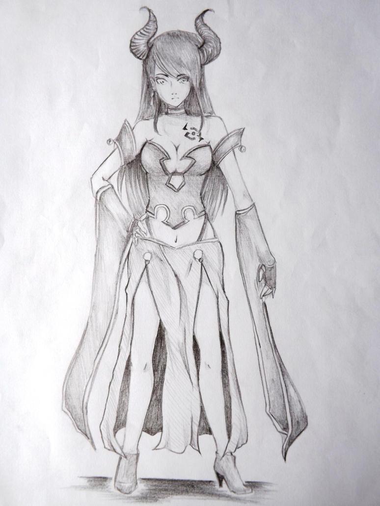 Demona-OC by allenwalker-chan