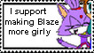 Blazey More Girly by sahara-lynne