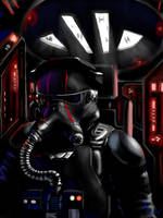 First Order Tie Swarm by Turd-Burger