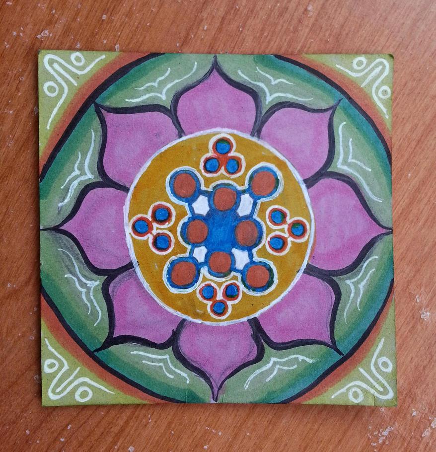 Lotus Mandala by No-44
