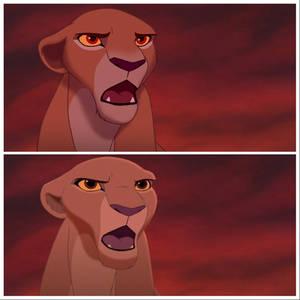 Lion King 2 redraw (Kiara)