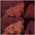 Lion King 2 redraw: Who Do You Think You Are?