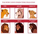 Tlk semi canon character challenge