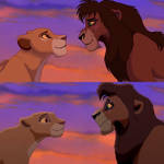 Lion King 2 Redraw: The war has ended