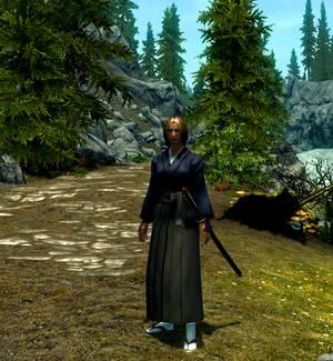 Shizune in Skyrim