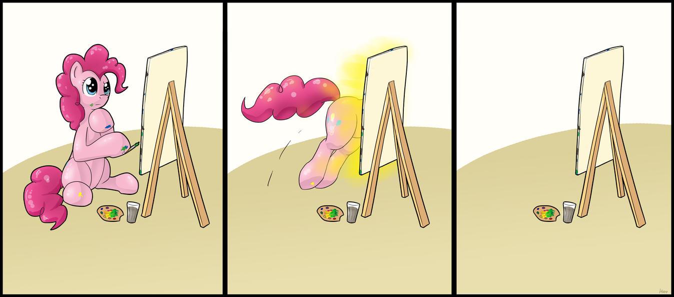 Pinkie's painting by HieronymusWhite