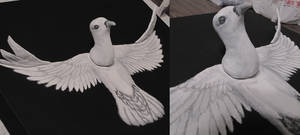 Rising Dove - Detail
