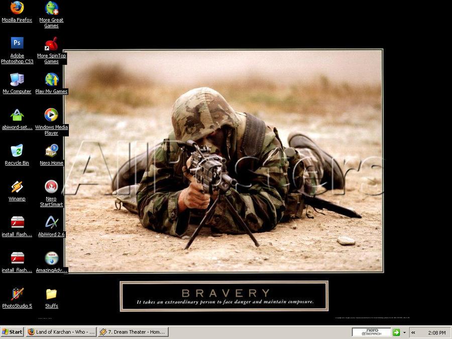 Desktop-Bravery by kaiverta