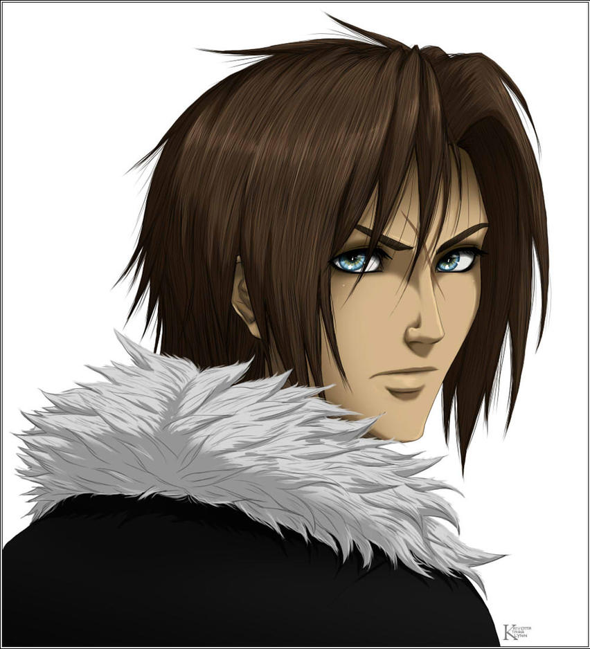 Squall Leonhart by kaiverta