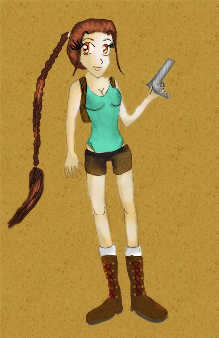Lara Croft: The Tomb Raider by sweetlove8