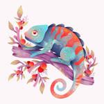Chameleon by Bemariart