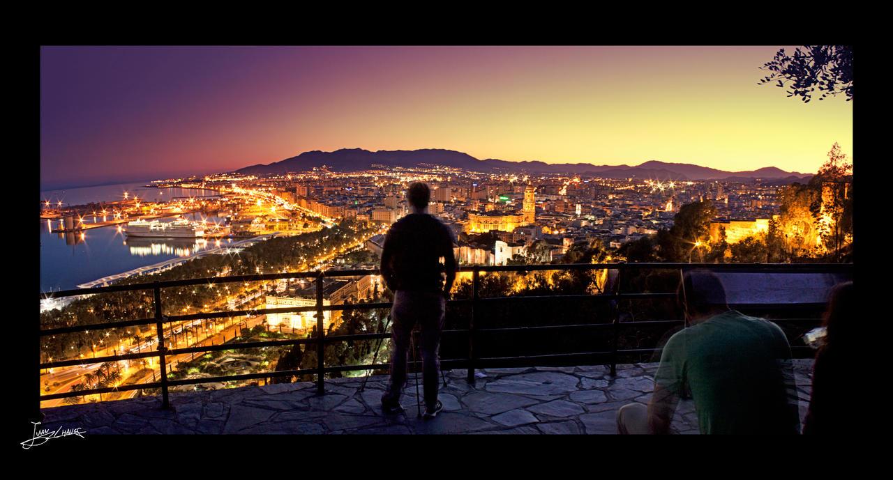 el fotografo y el mirador de Malaga by JuanChaves