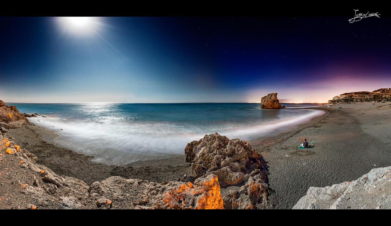 Super luna de agosto by JuanChaves