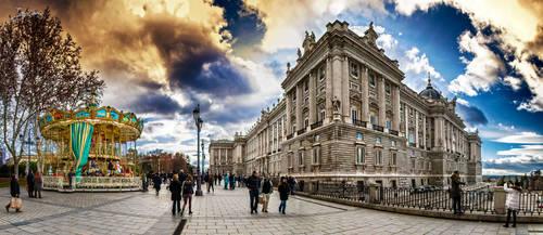 Palacio de Oriente by JuanChaves