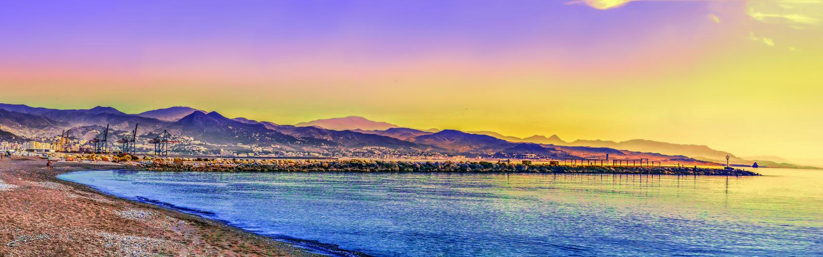 mornings on the coast