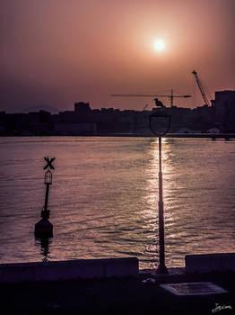 the harbor sentry
