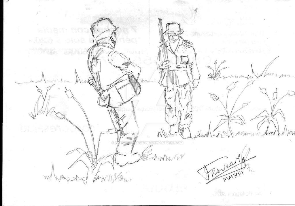 Soldados en espera by HectorFrancovig