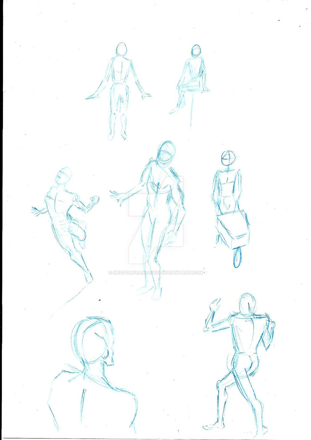 Bocetos varios 02 by HectorFrancovig
