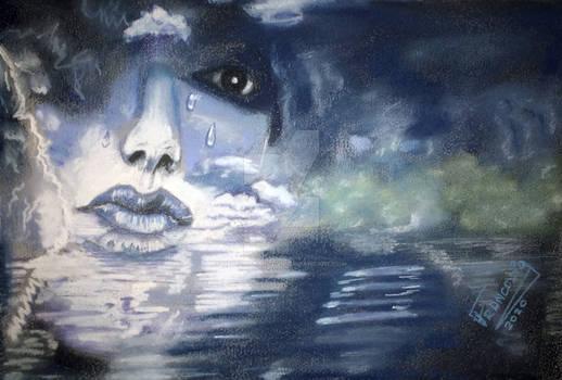 Lagrimas al mar / tears to the sea