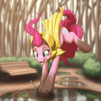 Puddles by Ohemo