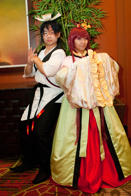 Kou Empire Prince and Princess by rollypops