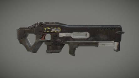 C-14 Impaler Gauss Rifle