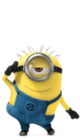 Minion Png by StephanieCura24