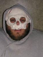 Mike's skull by Kelenthemaskmaker