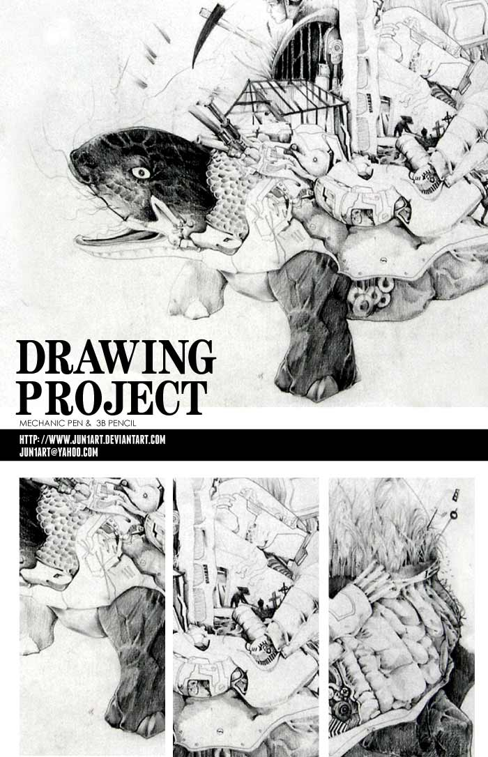 DRAWING Project by jun1art