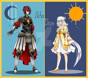 OC: Nite and Dae