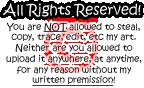 Copyright Stamp thing