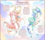 Flowerlings Info by Toffee-Tama