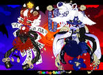 B-P Advent: Red Oni and Blue Oni 48hr Auction OPEN by Toffee-Tama