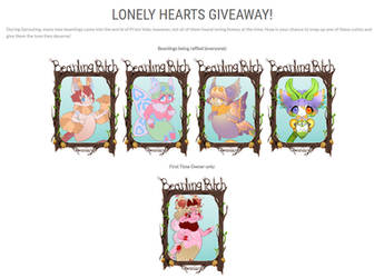 Lonely Hearts Free Giveaway: OPEN